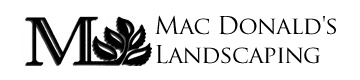 MacDonald's Landscaping Mobile Logo
